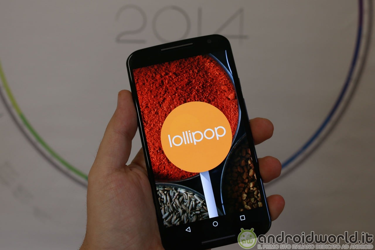 Moto X Lollipop final