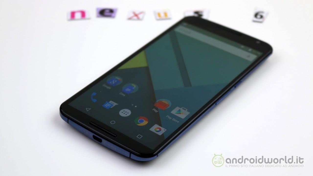 C'è una nuova build di Android 5.1 per Nexus 6 ma non vi consigliamo di installarla
