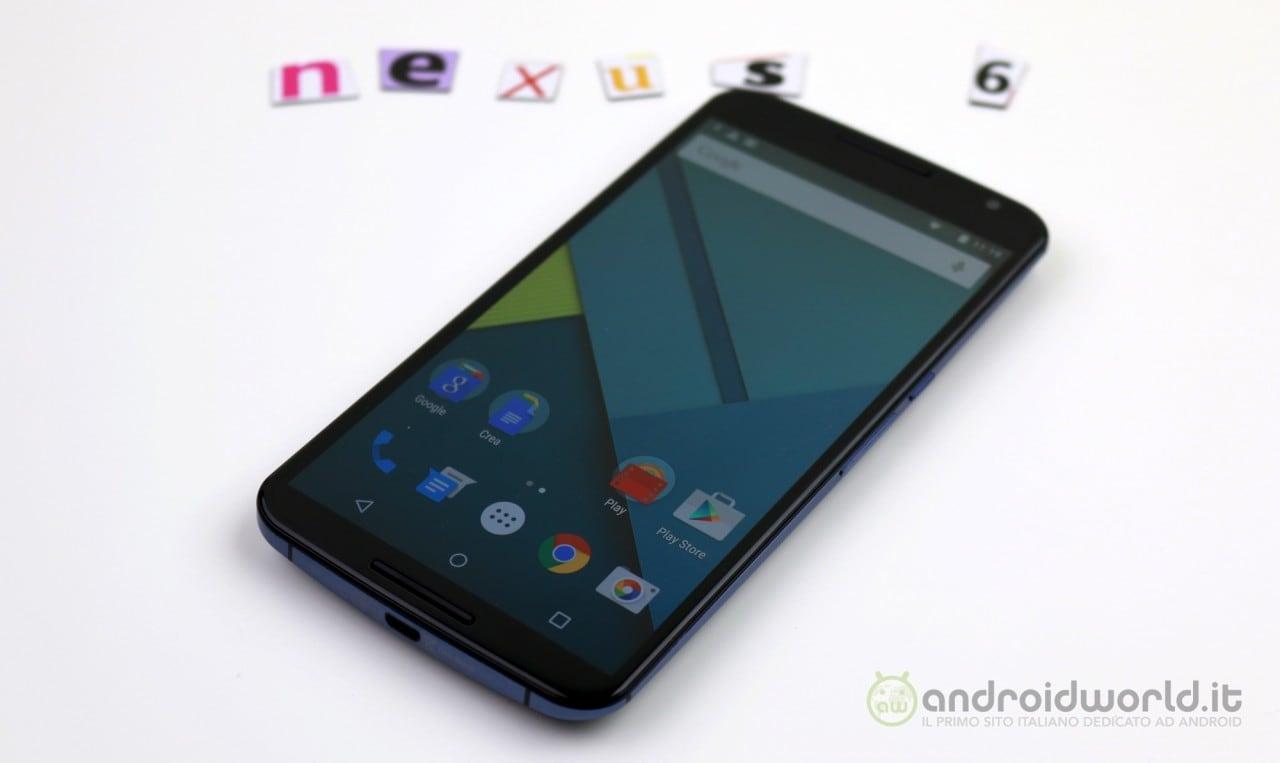 Google taglia il prezzo di Nexus 6