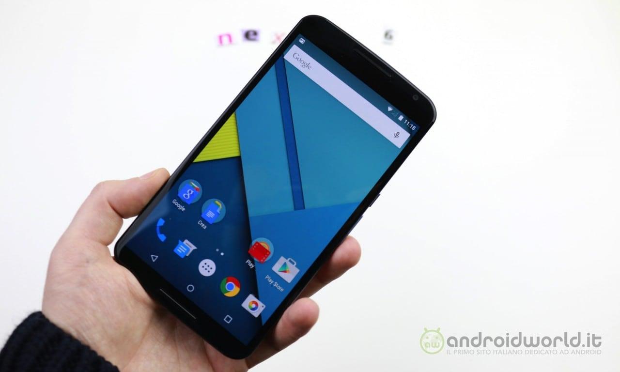 Motorola ammette che Nexus 6 era troppo grosso con un anno di ritardo