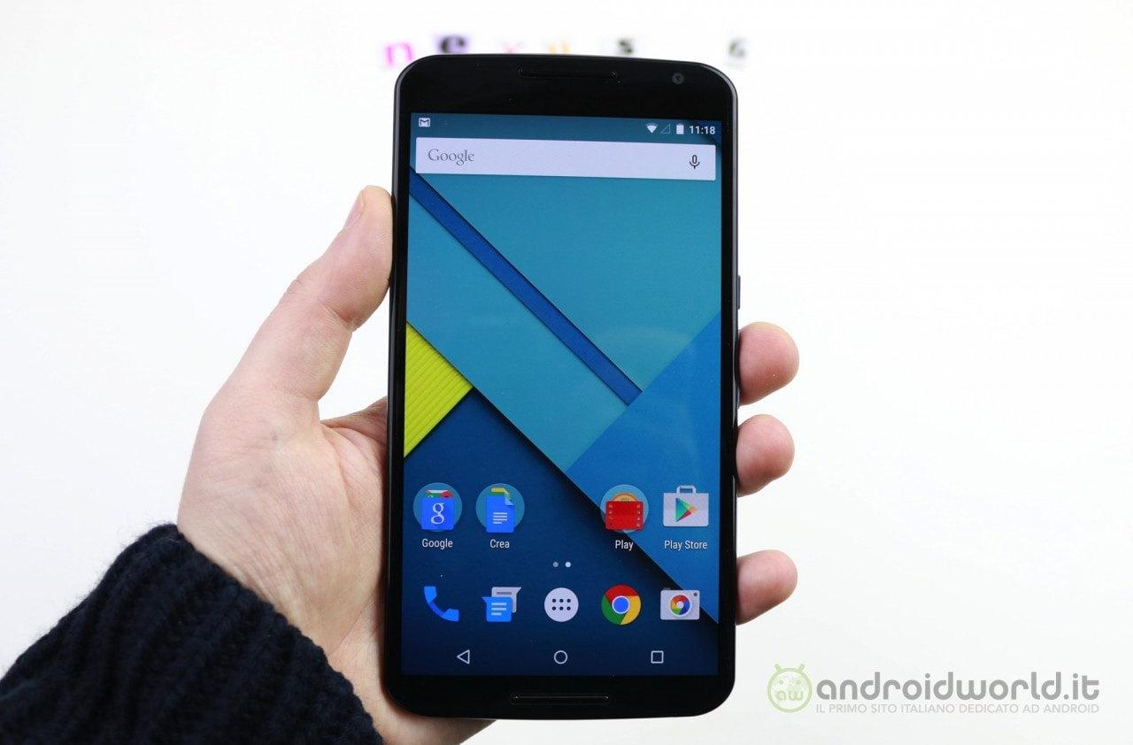 Nexus 6 torna ad aggiornarsi ad Android 7.1.1, speriamo senza altre tribolazioni (foto)