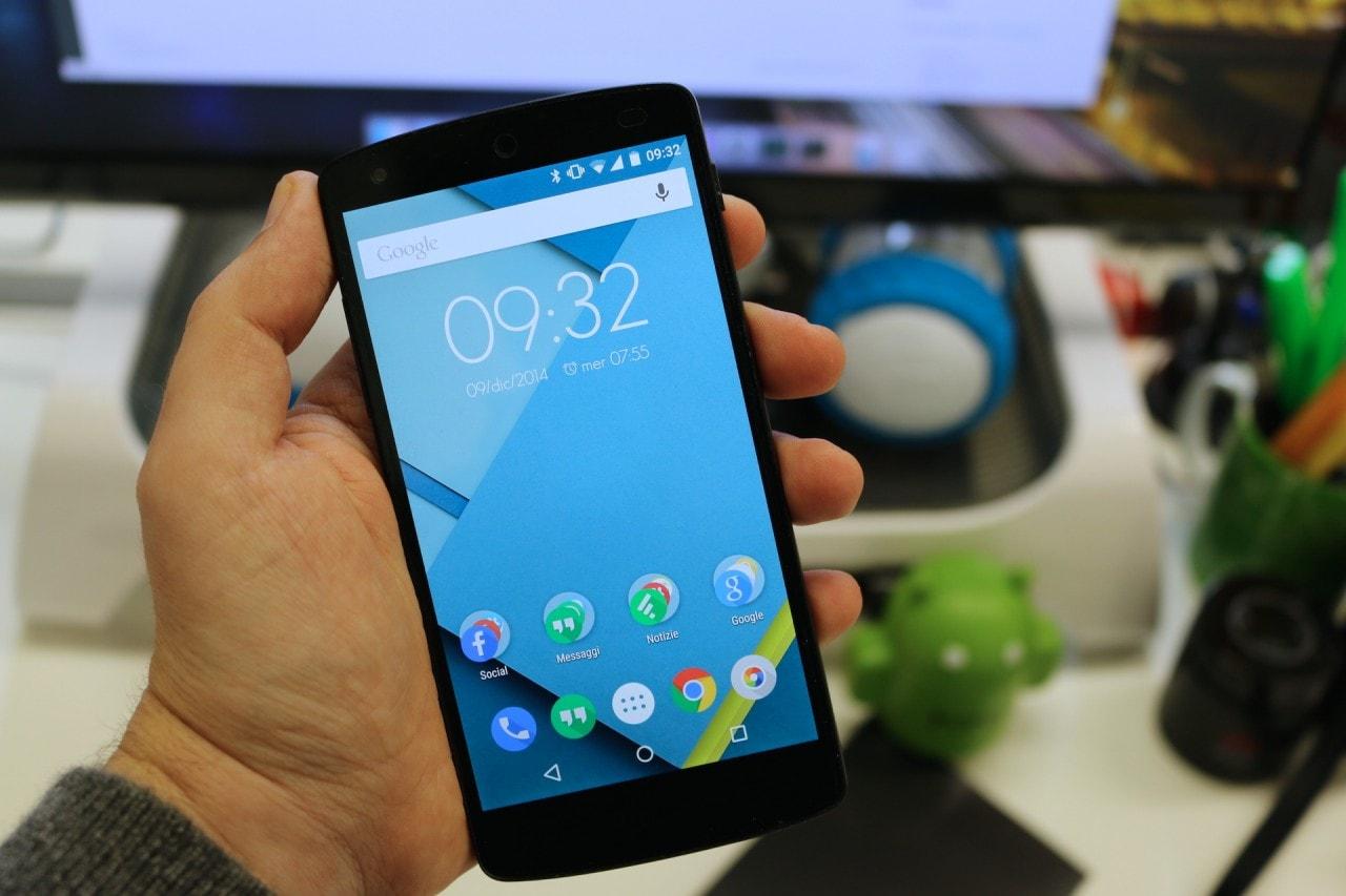 Torna Nexus 5 da Gli Stockisti: 279€ 16 GB, 309€ 32 GB