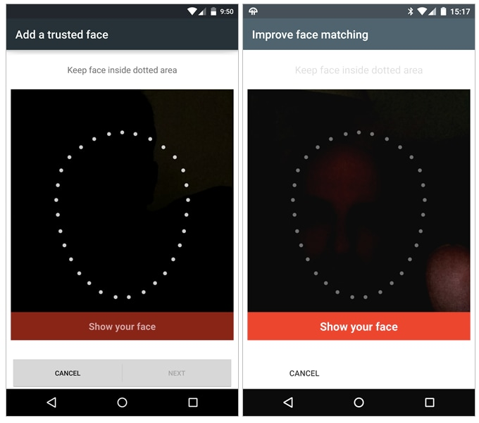 Nexus 6 bug riconoscimento facciale