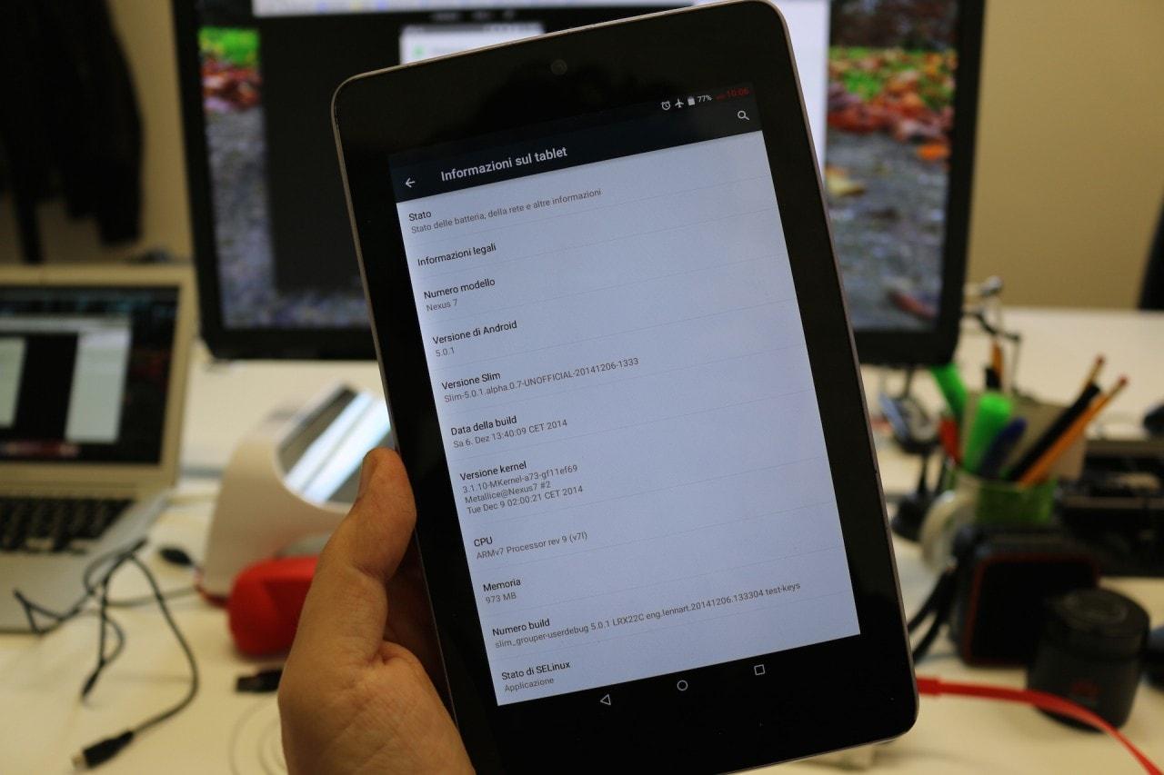 Nexus 7 SlimROM