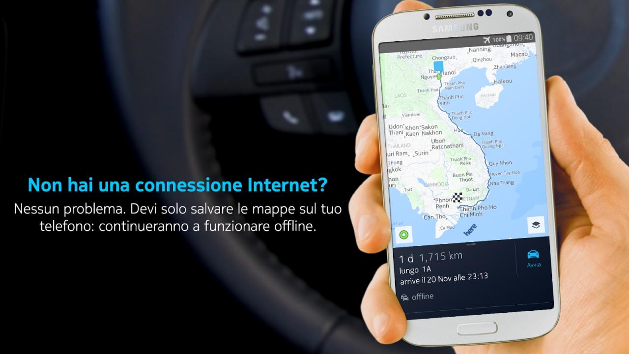 Nokia HERE Beta arriva gratis sul Play Store (foto)