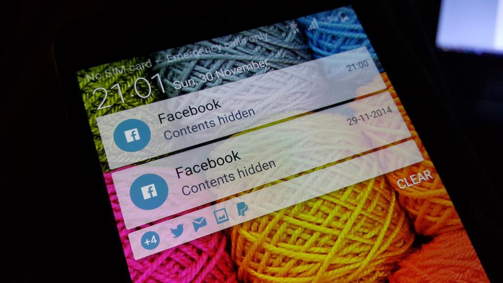 Note 4 lollipop lock screen
