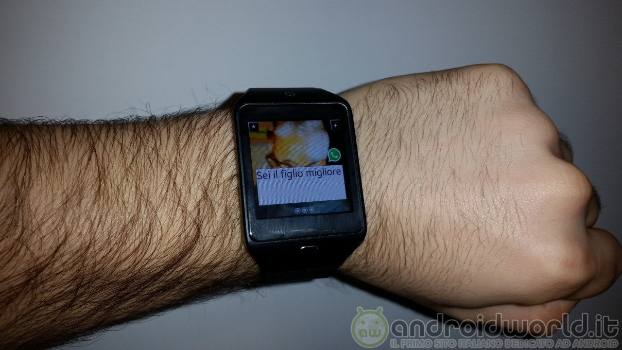 Notifications Wear Style: un tocco di Android Wear nel vostro smartwatch Tizen (foto e video)
