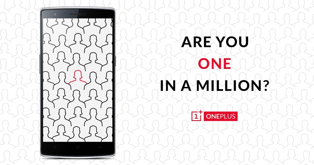 OnePlus uno su un milione