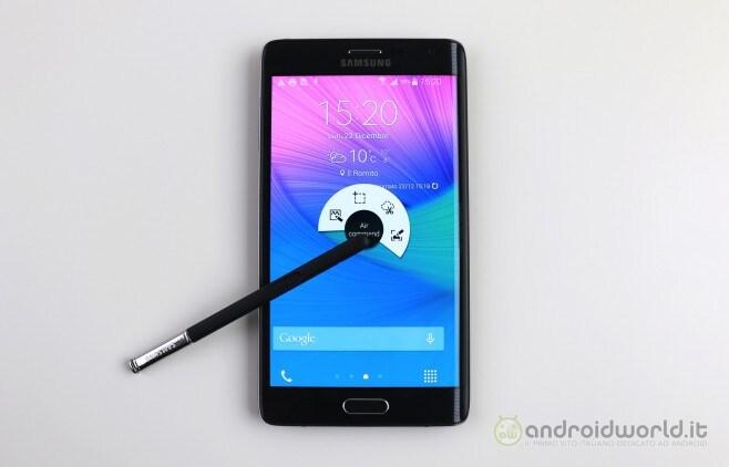 Recensione Samsung Galaxy Note Edge 11