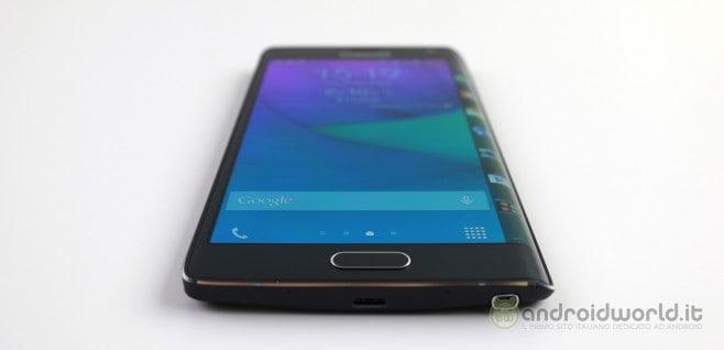 Recensione Samsung Galaxy Note Edge 8