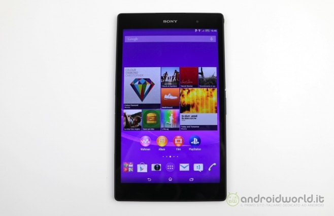Recensione Sony Xperia Z3 tablet Compact 1