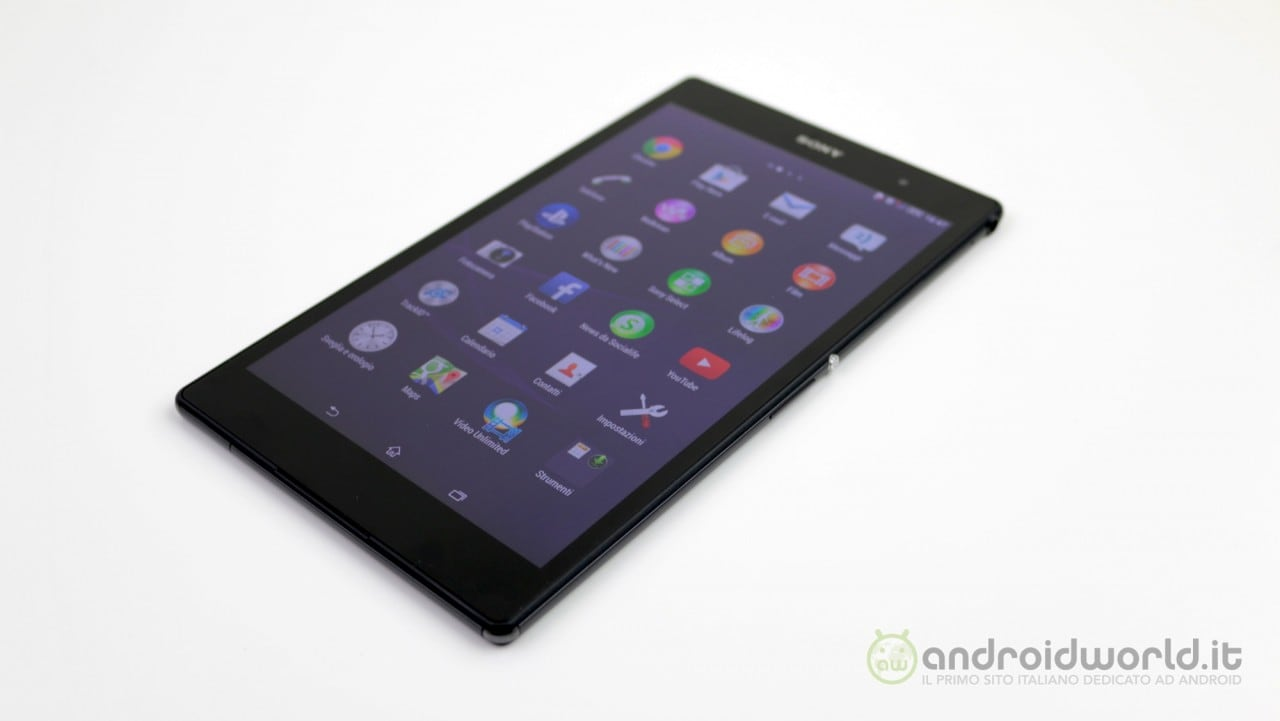Recensione Sony Xperia Z3 tablet Compact 7