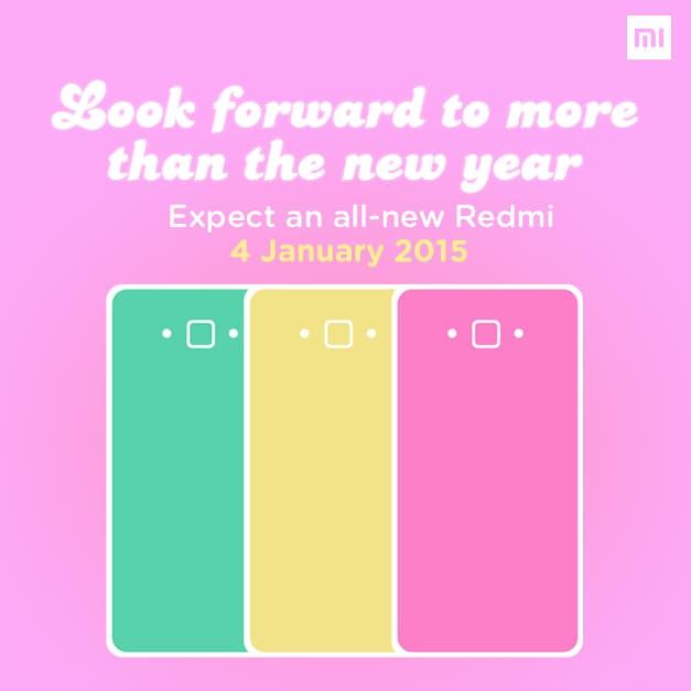 Nuovo Xiaomi Redmi il 4 gennaio: potrebbe essere il primo smartphone a 64-bit dell'azienda (aggiornato)