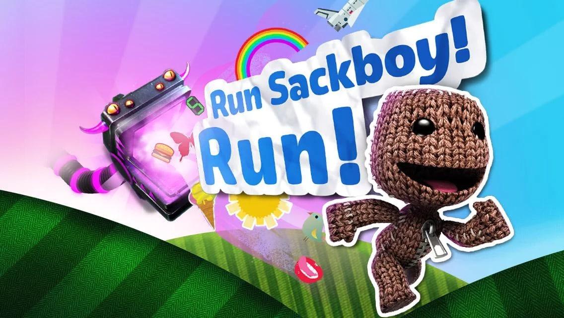 Run Sackboy! Run! Copertina