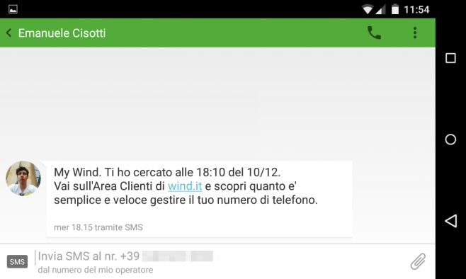 SMS My Wind SMS