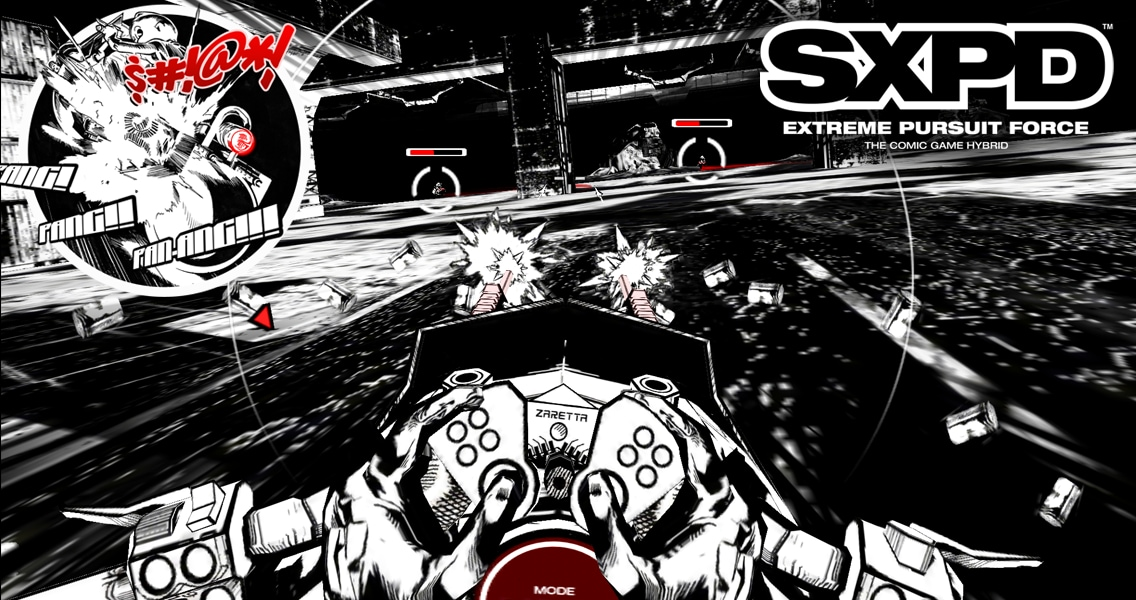 Lo spettacolare gioco/fumetto interattivo SXPD arriva su Android (foto e video)