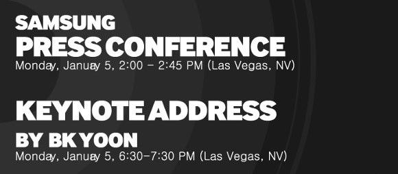 Samsung programma una conferenza per il CES di Las Vegas