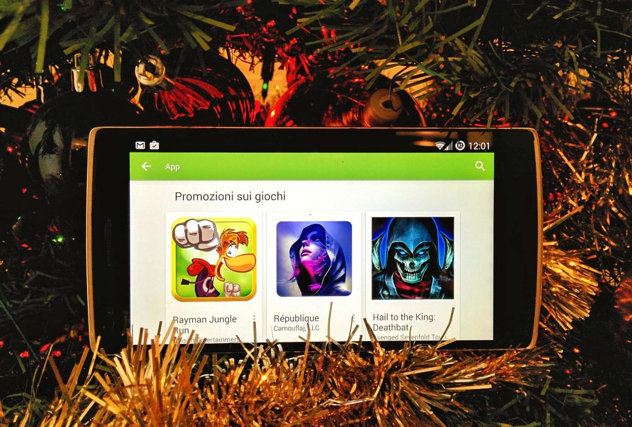 Giochi Android: guida a tutti i super sconti di Natale!