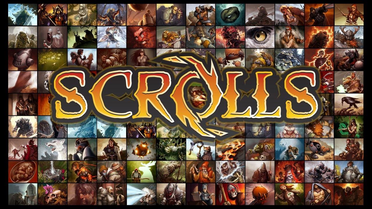 Scrolls Copertina