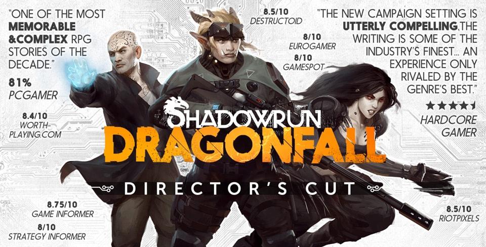 Shadowrun Dragonfall Copertina