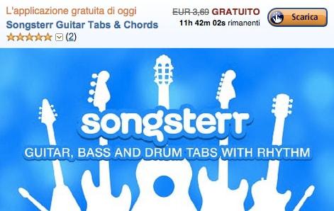 Songsterr è l'app gratuita del giorno su Amazon App-Shop