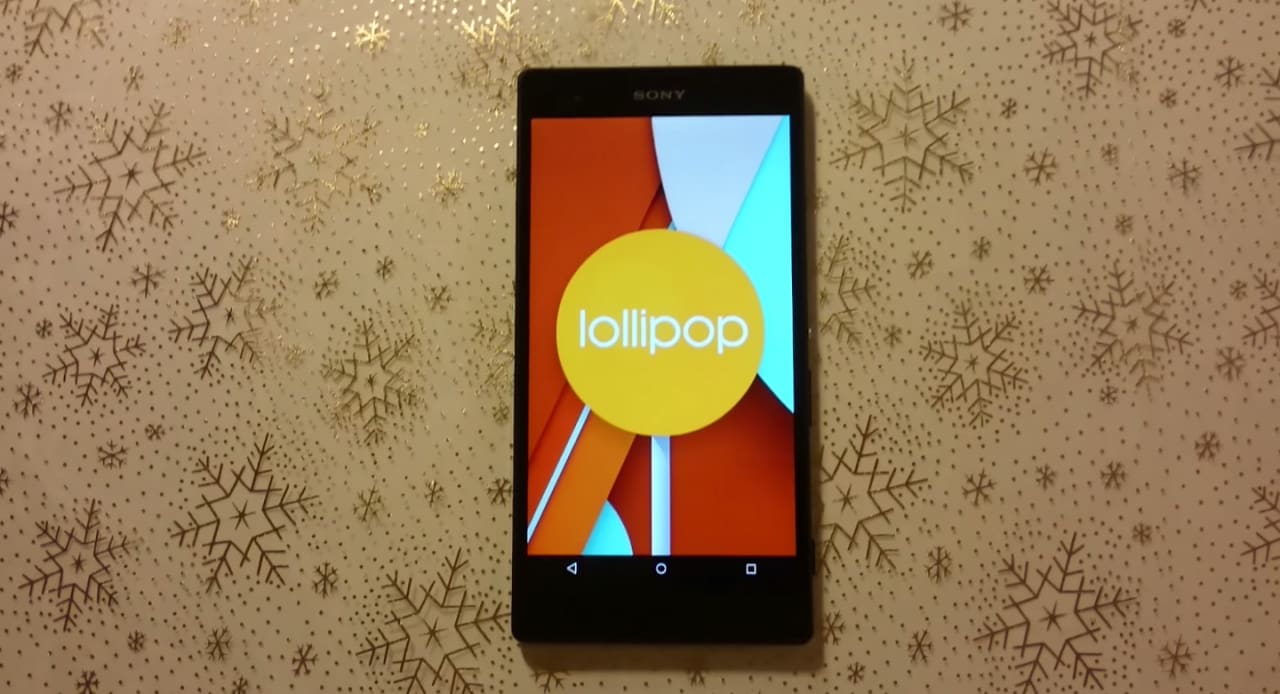 Sony AOSP Lollipop