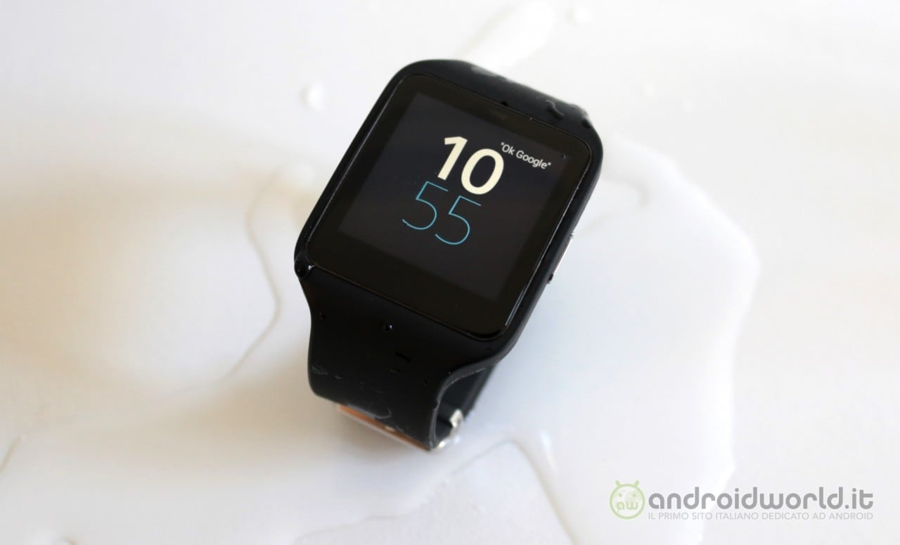 Sony SmartWatch 3 recensione 13