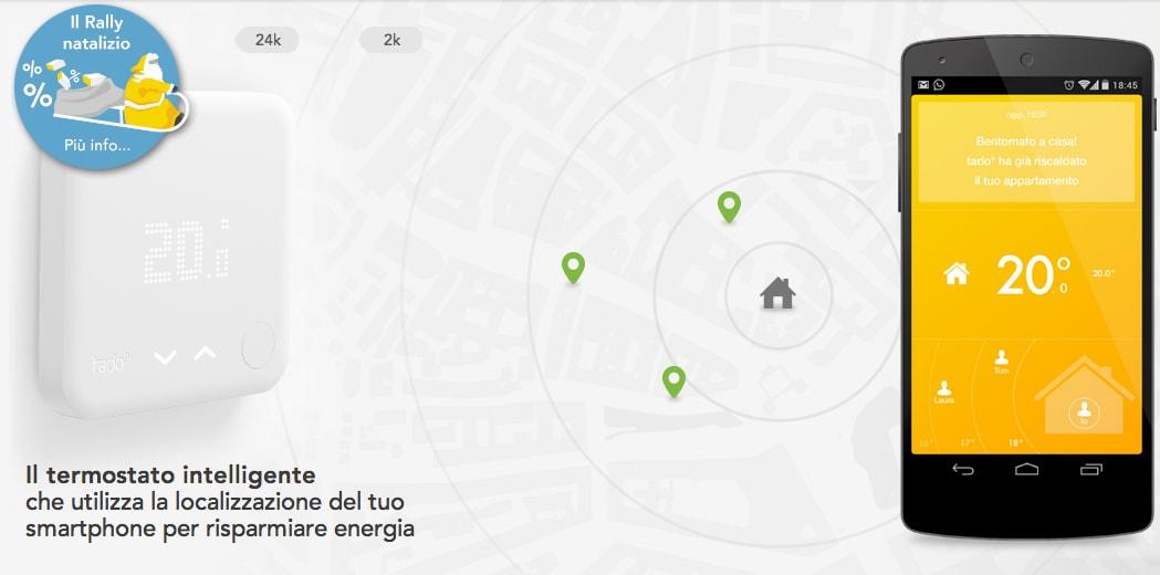 Tado°, il termostato intelligente controllato da Android che funziona anche in Italia (alla faccia di Nest!)