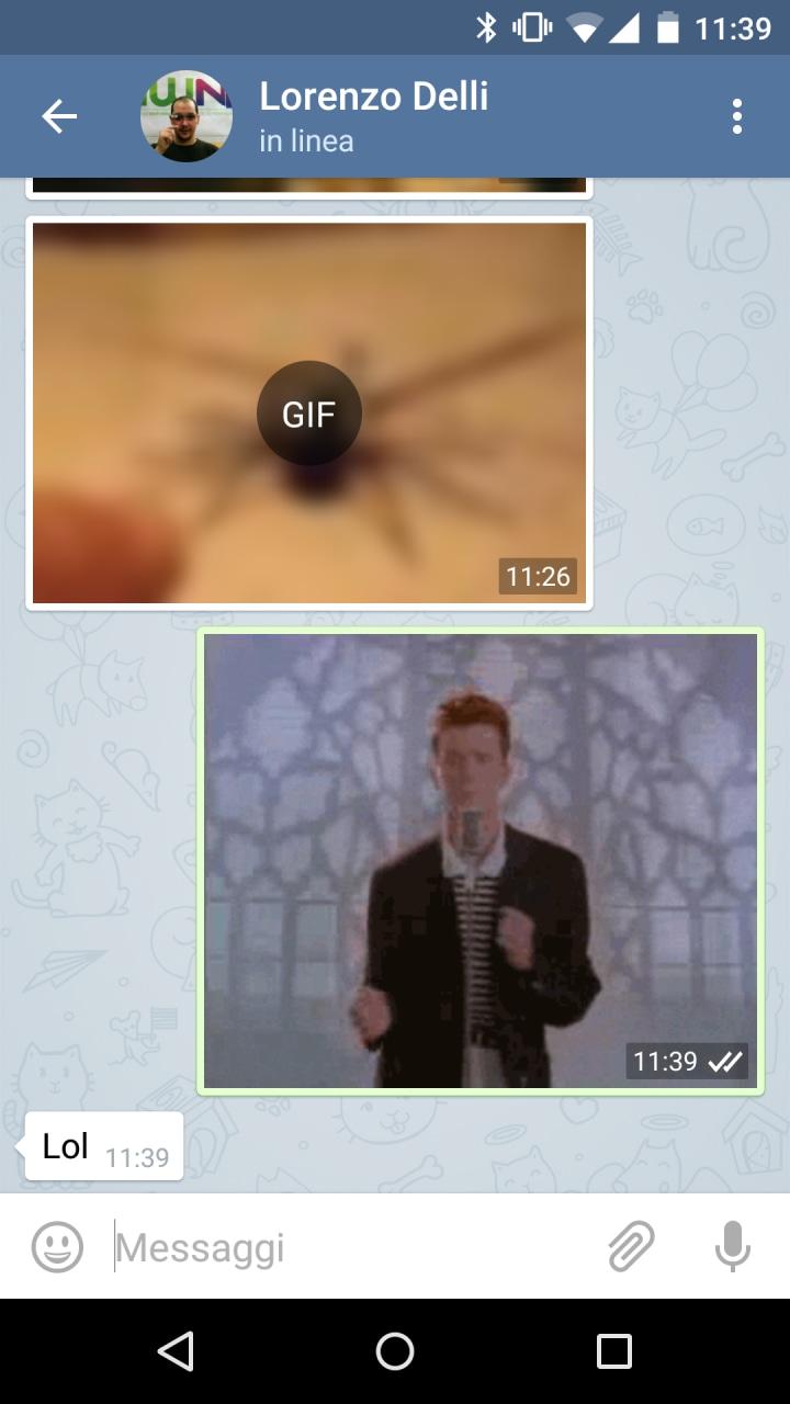 Telegram GIF