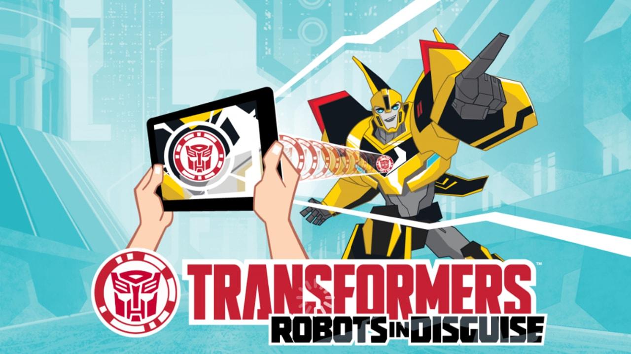 Transformers RobotsInDisguise Copertina