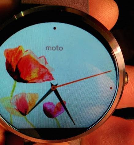 Watchface errore Moto 360 - 1