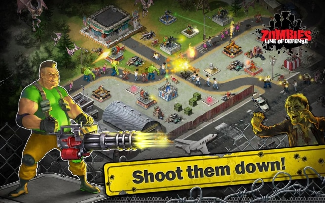 Zombies Line of Defense Free Android
