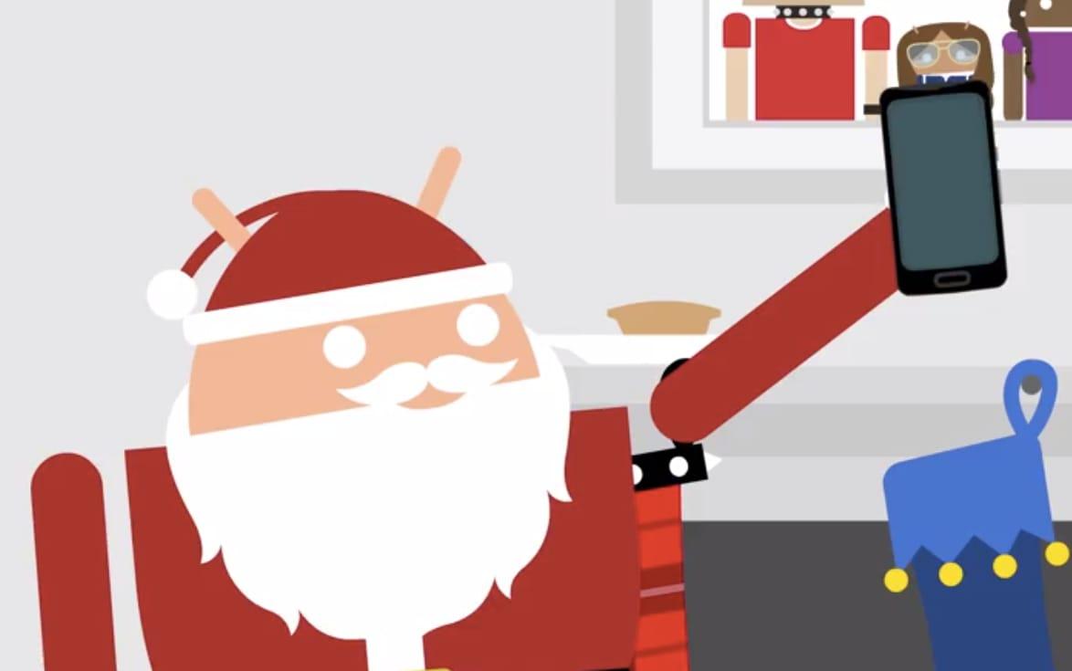 Un Android Babbo Natale regala smartwatch, smartphone e tablet (video)