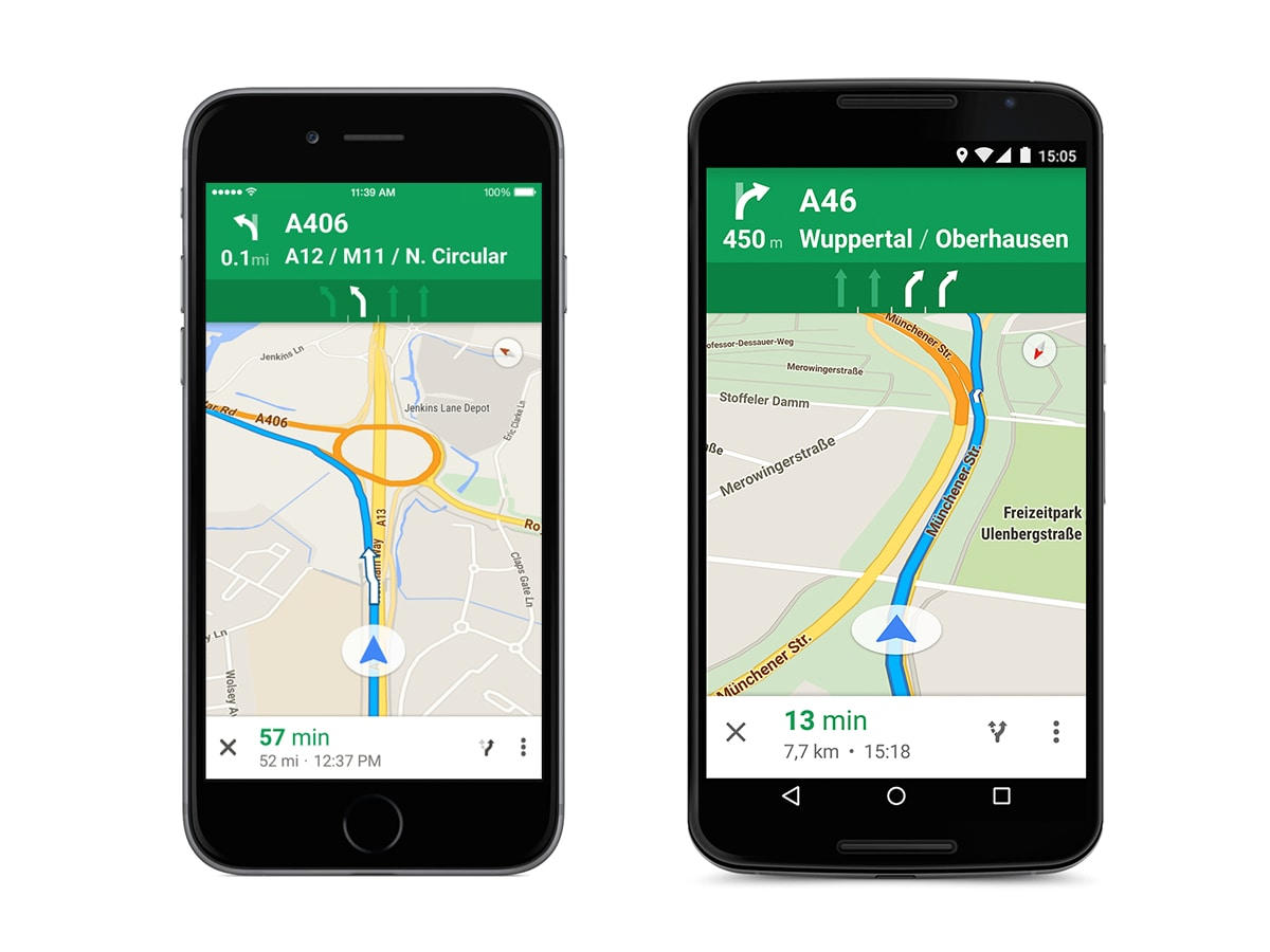 Google Maps aggiunge gli indicatori di corsia in Italia ed altri paesi europei