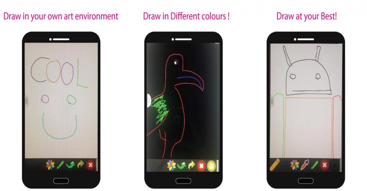 Draw Share, l'applicazione per divertirsi creando piccoli disegni sullo smartphone (foto)