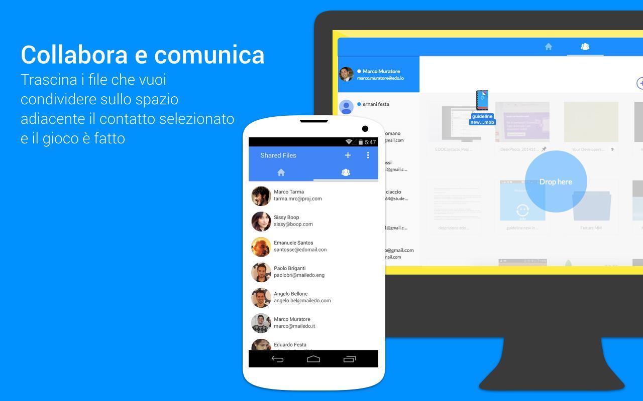 Edo, il servizio che semplifica l'utilizzo di Google Drive (foto e video)