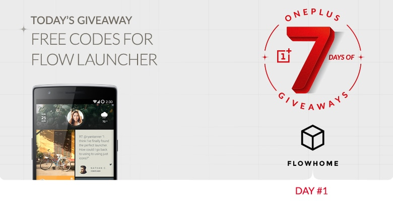 flowhome giveaway