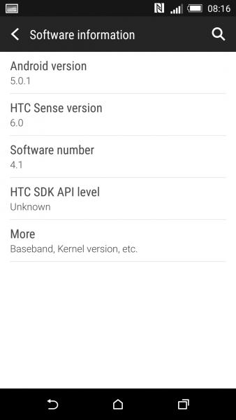 Android 5 0 1 Lollipop Si Mostra Su Htc One M8 Foto E
