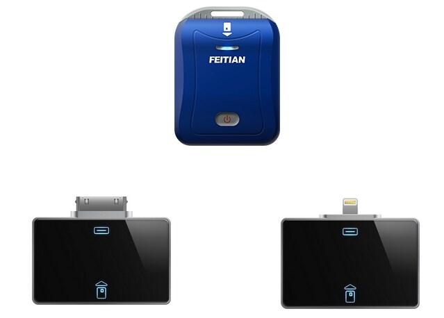Partner Data presenta i lettori di smartcard di Feitan che trasformano lo smartphone in un POS