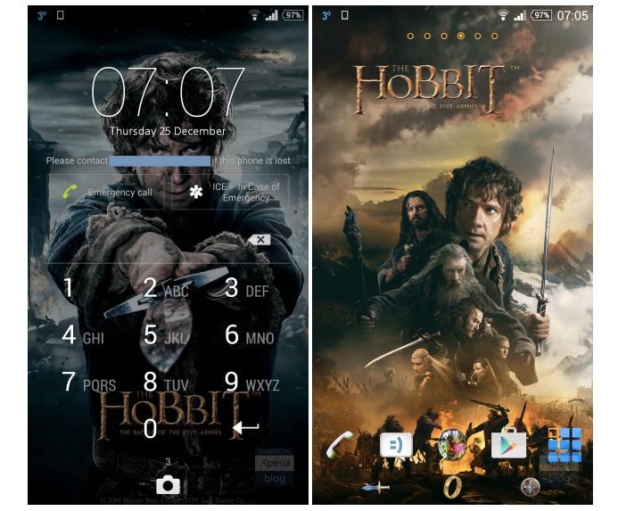 Sony rilascia un tema dedicato a Lo Hobbit