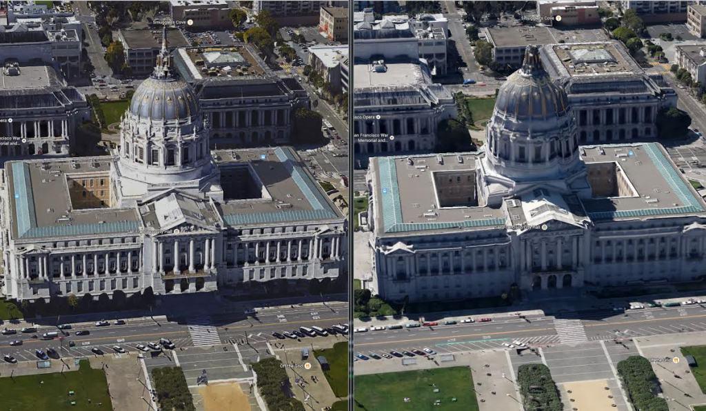 Google Maps introduce migliori immagini in 3D per New York e San Francisco