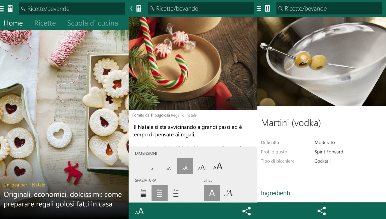 Android vi guida in cucina grazie a MSN Food & Drink (foto)