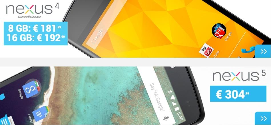 Expansys insiste con gli smartphone di Google: Nexus 5 a partire da 304€