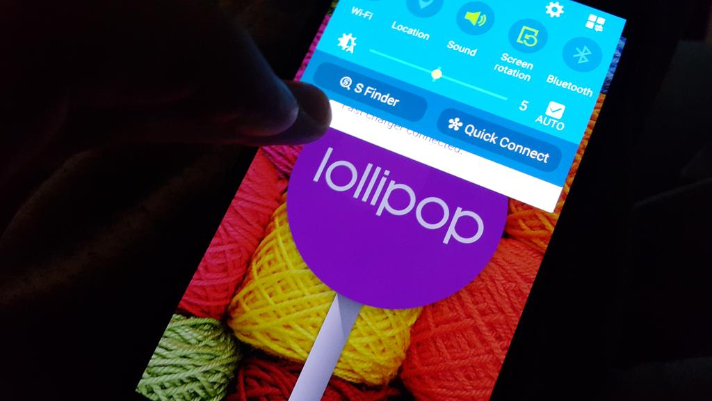note 4 lollipop