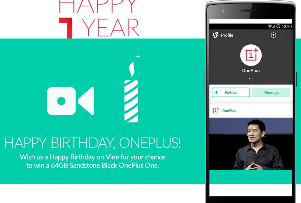 oneplus compleanno