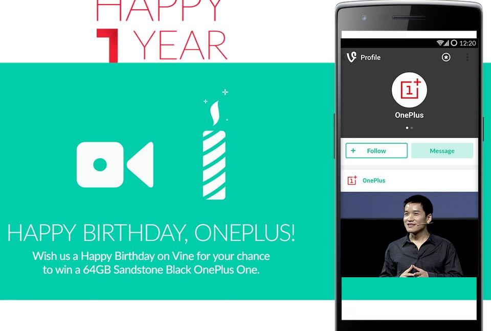 OnePlus festeggia un anno di vita: One in vendita senza invito, 11% di sconto sugli accessori e ROM in arrivo