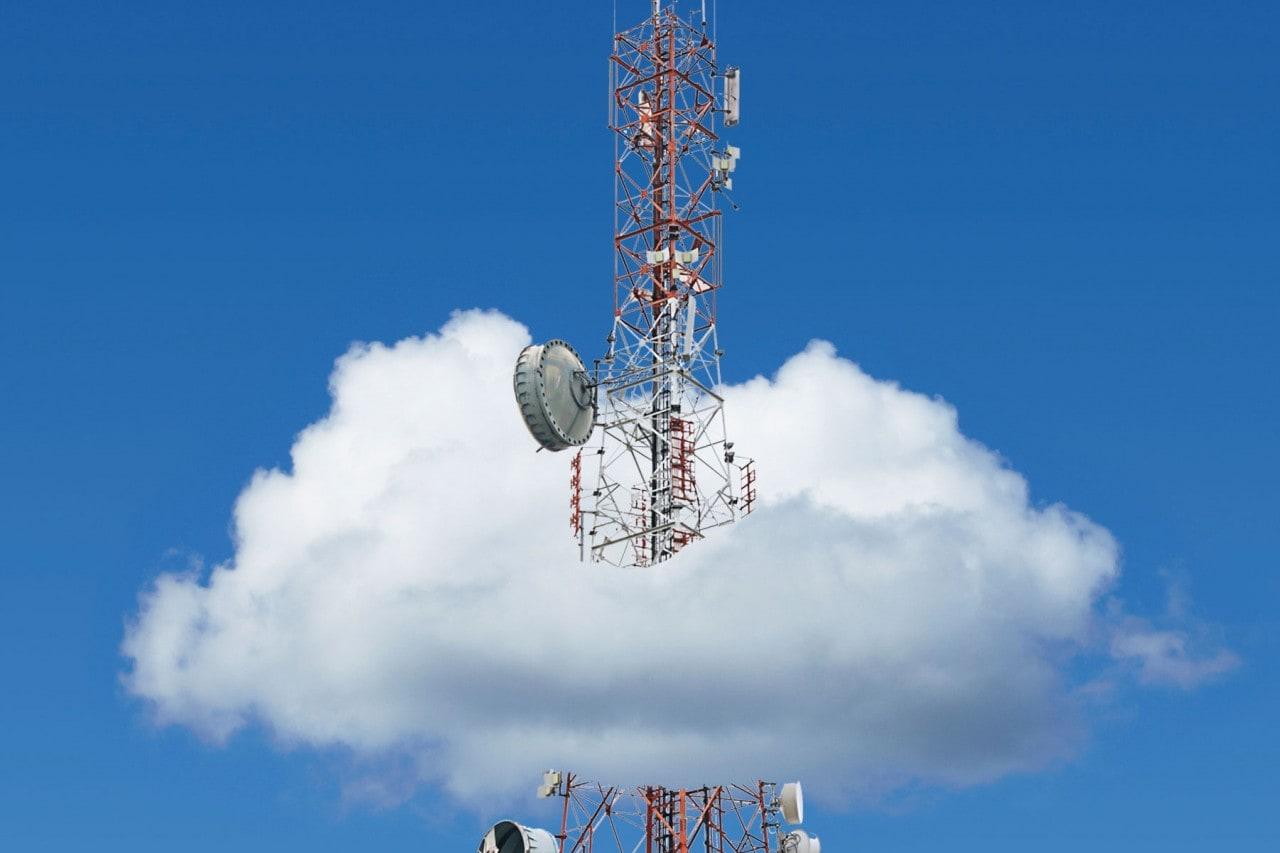 rete dati nuvola