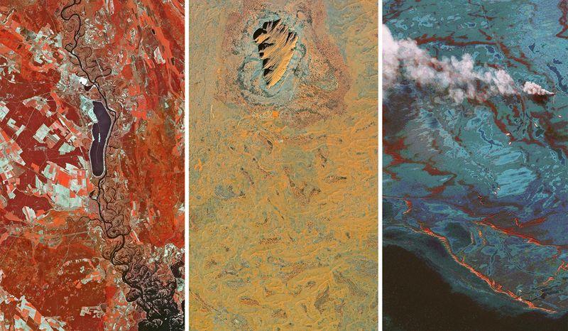 Provate queste splendide foto satellitari come sfondo per il vostro smartphone