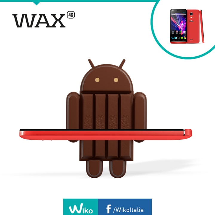 wiko wax kitkat