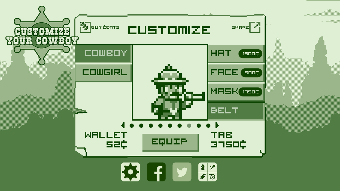 2-bit Cowboy è un (gradito) omaggio all'era del Game Boy (foto e video)